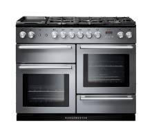 Rangemaster NEX110DFFSSC - 110cm Nexus Dual Fuel Stainless Steel Chrome Range Cooker 106100