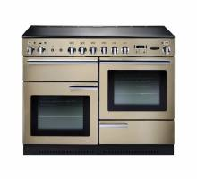 Rangemaster PROP110ECCRC - 110cm Professional + Electric Ceramic Cream Chrome Range Cooker 91870