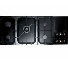 Rangemaster TFSHP117NGBLG Toledo Freestyle Black Gloss Gas Hob