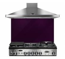 Rangemaster UNBSP899PU - 90cm Purple Glass Splashback 107500