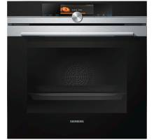 Siemens iQ700 HB678GBS6B Multifunction Single Oven with Microwave