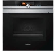 Siemens iQ700 HM678G4S6B Multifunction Single Oven with Microwave