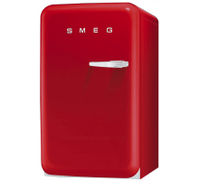Smeg 50's Retro Style Aesthetic FAB10LR Larder Fridge with Icebox - Red