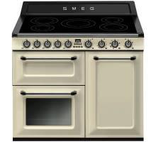 Smeg TR103IP - 100cm Victoria Aesthetic Induction Range Cooker - Cream