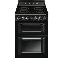 Smeg TR62IBL - 60cm Victoria Aesthetic Induction Range Cooker - Black