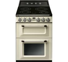 Smeg TR62IP - 60cm Victoria Aesthetic Induction Range Cooker - Cream