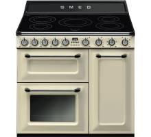 Smeg TR93IP - 90cm Victoria Aesthetic Induction Range Cooker - Cream