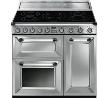 Smeg TR93IX - 90cm Victoria Aesthetic Induction Range Cooker - Stainless Steel