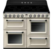 Smeg Victoria Aesthetic TR4110IP Induction Range Cooker - Cream