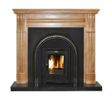 Stanley Cara Curved Multi-Fuel Insert Stove