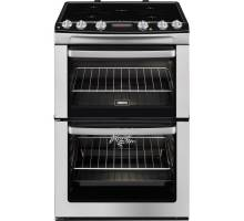 Zanussi ZCI660MXC Electric Twin Cavity Induction Cooker - Stainless Steel