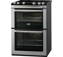 Zanussi ZCV668MX Electric Double Oven Cooker Stainless Steel