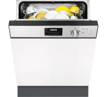 Zanussi ZDI12010XA Semi-Intergrated Dishwasher - Stainless Steel