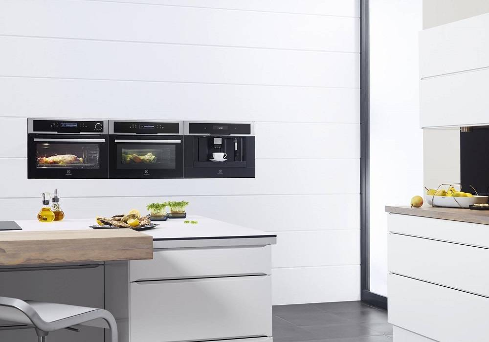 Electrolux Integrated Coffee Machines