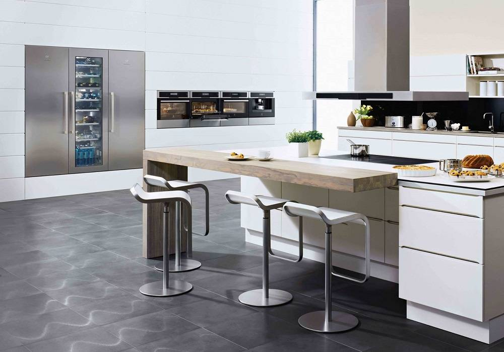 Electrolux Integrated Freezers