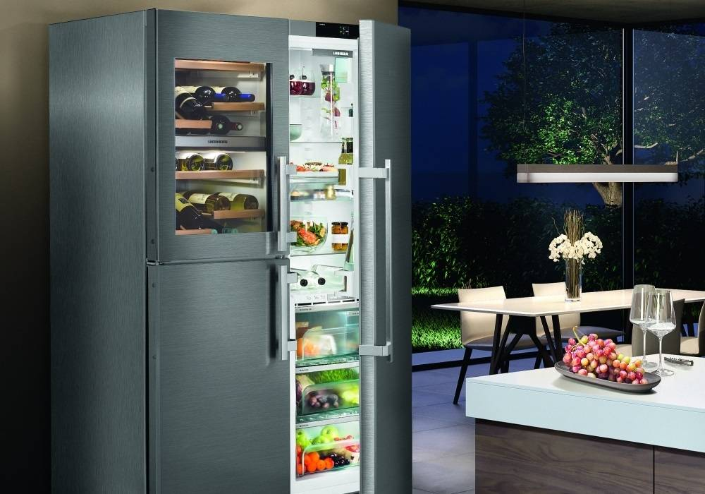 Liebherr Side by Side Fridge Freezers