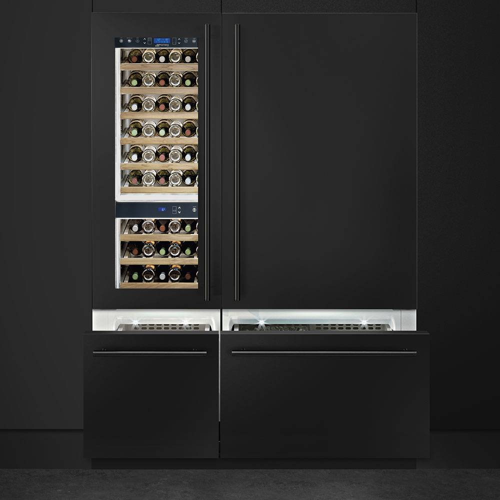 Smeg Built-in Fridge Freezers