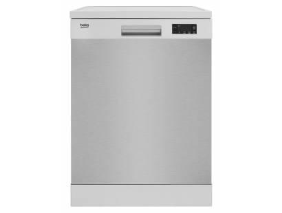Beko DFN16R10 Freestanding Dishwasher - Stainless Steel