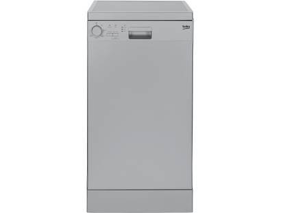 Beko DFS05010S Slimline Dishwasher Silver