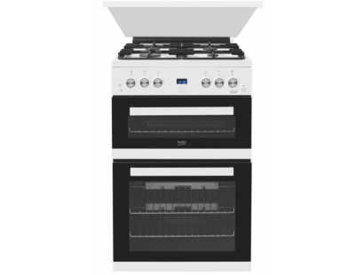 Beko EDG6L33W 60cm White Gas Cooker