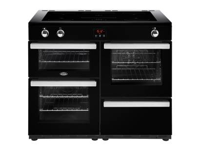 Belling Cookcentre 110EiBLK Electric Induction Range Cooker