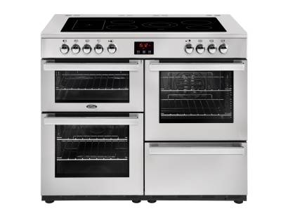 Belling Cookcentre 110EiPROFSTA Electric Induction Range Cooker