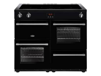 Belling Farmhouse FH100EiBK Electric Induction Range Cooker