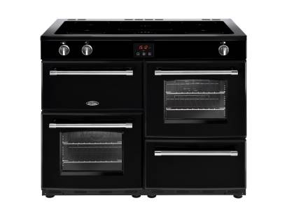 Belling Farmhouse FH110EiBK Electric Induction Range Cooker