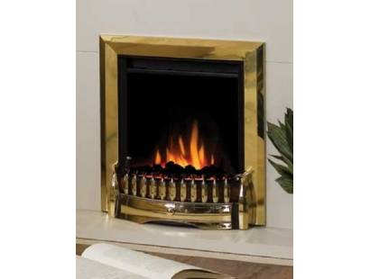 Dimplex Optiflame Exbury Led Antique Brass Inset Fire