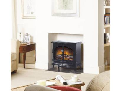 Dimplex Optiflame Stockbridge Black Electric Stove
