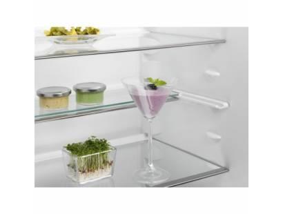 electrolux integrated fridge freezer electrolux erc3214aow larder fridge integrated freezer