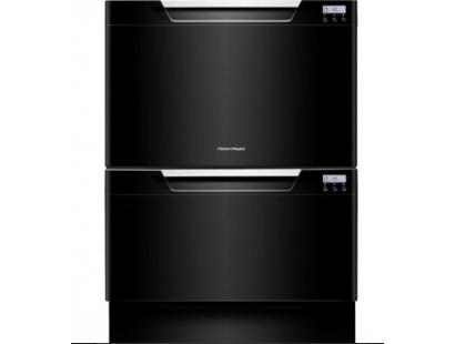 Fisher & Paykel DD60DCHB7 Double Tub DishDrawer - Black