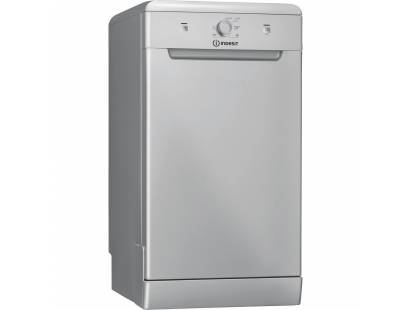 Indesit DSFE1B10S Slimline Dishwasher