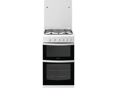 Indesit ID5G00KMWL Gas Cooker with Lid