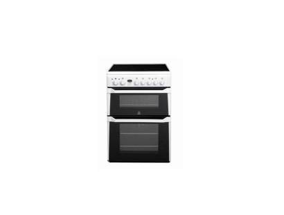 Indesit ID60C2W Double Oven Electric Cooker