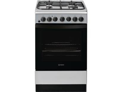 Indesit IS5G4PHSS Dual Fuel Cooker