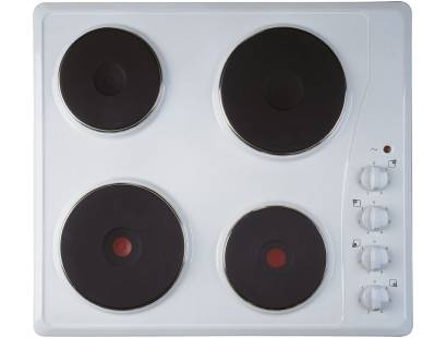 Indesit TI60W Solid Plate Electric Hob