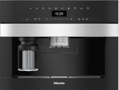 Miele CVA7440 Built-in Coffee Machine - Stainless Steel