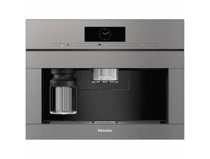 Miele CVA7845 Built-in Coffee Machine with DirectWater - Graphite Grey