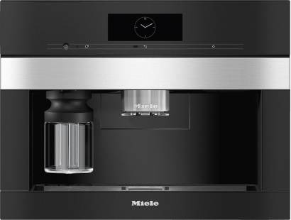 Miele CVA7845 Built-in Coffee Machine with DirectWater - Stainless Steel