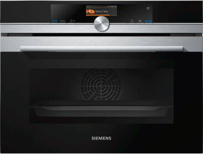 Siemens iQ700 CS656GBS7B Compact Steam Oven