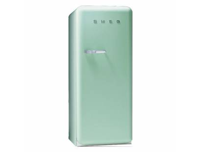 Smeg 50's Retro Style Aesthetic FAB28QV1 Fridge with Icebox - Pastel Green