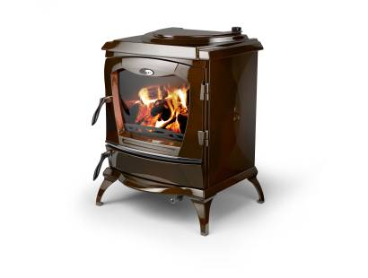 Stanley Lismore Brown Multi-Fuel Boiler Stove
