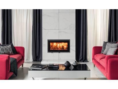 Studio Air Edge Inset Wood Burning Fire