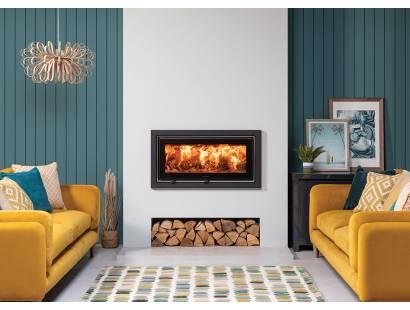 Studio Air Profil Inset Wood Burning Fire