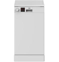 Beko DVS05C20W Slimline White Dishwasher