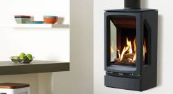 Gazco Vogue Midi T Wall Mounted Gas Stove